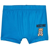 Moschino Kid-Teen Bear Branded Badbyxor Blå 40203