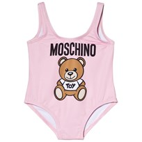 Moschino Kid-Teen Bear Print Baddräkt Rosa 50413