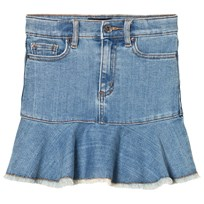 Bardot Junior Blue Denim Mia Skirt VINTAGE WASH