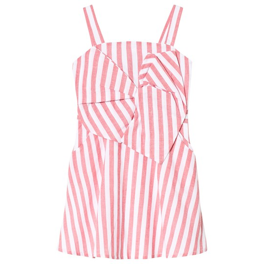 Bardot Junior Red and White Striped Mable Dress LOLLIPOP STRIPE