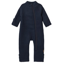 Mikk-Line Wool One-Piece Blue Nights