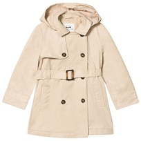 Cyrillus Beige Trenchcoat with Detachable Hood 6309