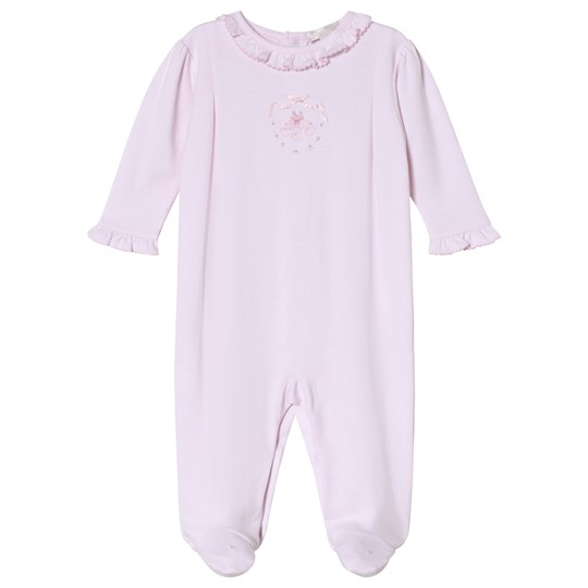 Kissy Kissy Pink Hand Embroidered Ballet Applique Babygrow PK