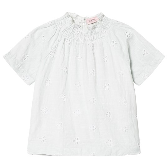 Noa Noa Miniature Long Sleeve Blouse Cloud Blue cloud blue