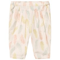 Noa Noa Miniature Sand Dollar Feather Print Pants SAND DOLLAR