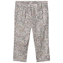 Noa Noa Miniature Multicolored Floral Print Pants Multicolour