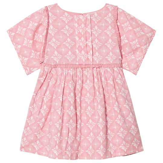 Noa Noa Miniature Blush Print Short Sleeve Dress Blush