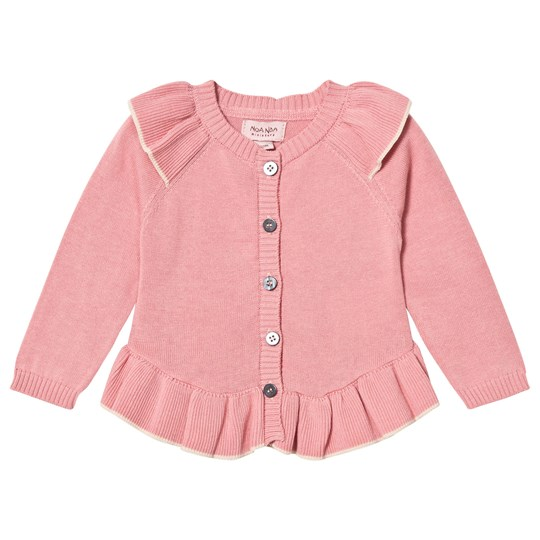 Noa Noa Miniature Long Sleeve Cardigan Blush Blush