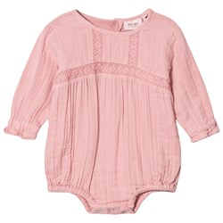 Noa Noa Miniature Blush Embroidered Long Sleeved Baby Body