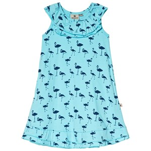 Image of Nova Star Blue Flamingo Dress 104/110 cm (3007395929)