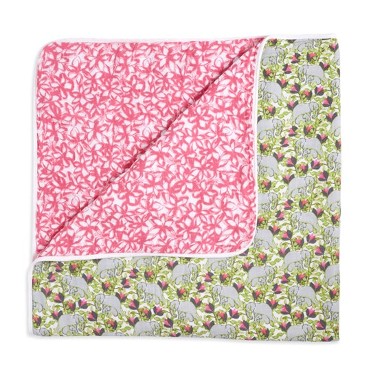 Aden + Anais Paradise Cove Classic Dream Blanket Pink