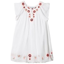 How To Kiss A Frog Forma Dress White White