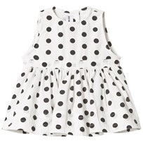 How To Kiss A Frog Ninni Dress White Dot white dot
