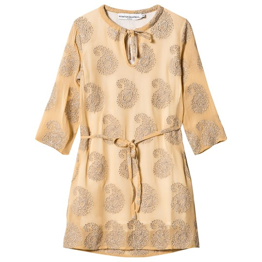 How To Kiss A Frog Sunny Tunic Gold embroidery Gold embroidery