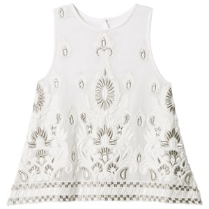 Image of How To Kiss A Frog A Top Embroidery/White 4 år (3007395271)