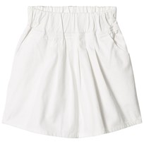 How To Kiss A Frog Philippa Skirt White Denim White denim