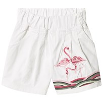 How To Kiss A Frog Nene Shorts White Denim White denim