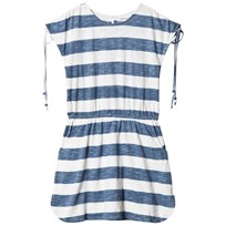 How To Kiss A Frog Trish Dress White/blue White/Blue