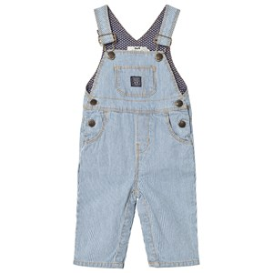 Image of Cyrillus Blue and White Overalls 9 months (3007395819)