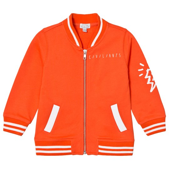 Civiliants Baseball Jacket Light Red Light Red
