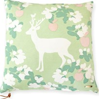 Majvillan Apple Garden Cushion Cover Green Vihreä