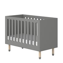 Flexa Furniture Play Baby Bed Grey Urban grey