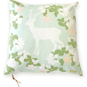 Image of Majvillan Apple Garden Cushion Cover Mint (3007398897)