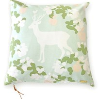 Majvillan Apple Garden Cushion Cover Mint Turkoosi