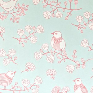 Image of Majvillan Sugar Tree Wallpaper Turquoise (3008601029)