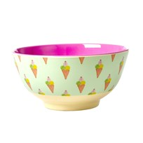Rice Melamine Bowl with Ice Cream Print icecream print