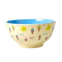 Rice Melamine Bowl with Summer Print summer print