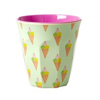 Rice Medium Melamine Cup with Ice Cream Print icecream print