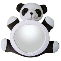 Carlobaby Bearview Panda Mirror White