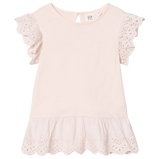 GAP Blush Pink Frill Top Pink Blush