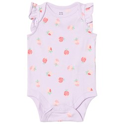 GAP Pale Lilac with Strawberry Print Baby Body