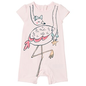 Image of GAP Pink Flamingo Swimsuit 12-18 mdr (3008598341)