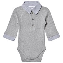 How To Kiss A Frog Style Baby Body Grey Melange Grey Melange