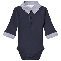 How To Kiss A Frog Style Baby Body Navy Marinblå
