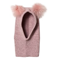 Huttelihut Fake Fur Balaclava Dusty Rose Dusty Rose