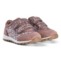Petit by Sofie Schnoor Velcro Faded Purple Glitter Sneakers Faded Purple