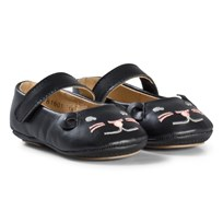 Petit by Sofie Schnoor Mouse Indoor Shoes In Black Black