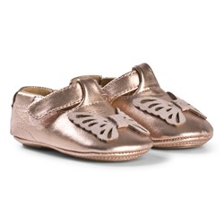 Petit by Sofie Schnoor Butterfly Peach Indoor Shoes