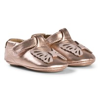 Petit by Sofie Schnoor Butterfly Peach Indoor Shoes Peach