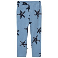 Emma och Malena Starfish Tights Blue Blue