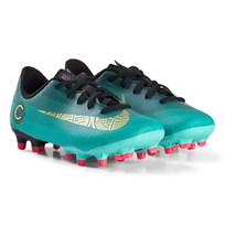 NIKE Green Nike CR7 VaporX 12 Academy Kids Multi-Ground Football Boot 390