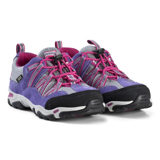 Timberland Trail Force L/F Gtx Youth Shoes Purple Purple