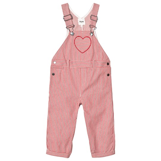 Blune Jumpstreet Overalls Red RED/CRAIE