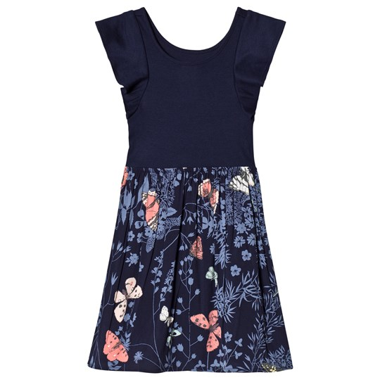 GAP Floral Dress In Navy Uniform NAVY UNIFORM