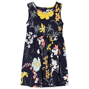 Image of GAP Floral Dress In Navy M (8-9 år) (3009435801)