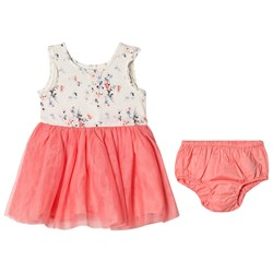 GAP Floral Dress In New Off White With Bloomers